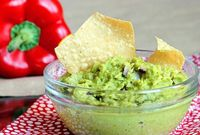 Asparagus Guacamole - 15 calories per serving #Healthy #Veggies #LowCal