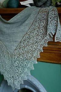 Ravelry: Flukra pattern by Gudrun Johnston-- Love this shawl